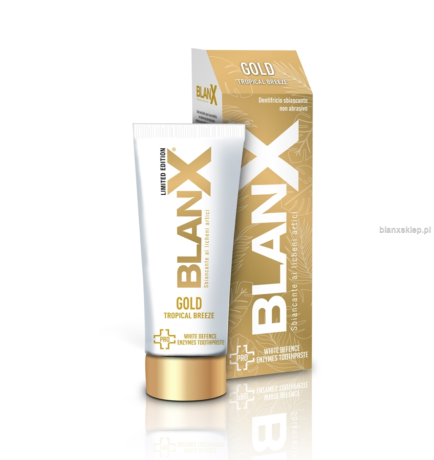 BlanX PRO Gold Tropical Breeze