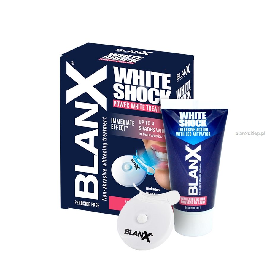 BlanX White Shock Treatment + BlanX Led Bite